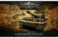 Баннер, плакат, постер «World of Tanks», PzkPfw VI TIGER