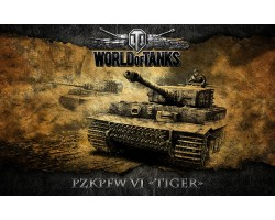 Баннер, плакат, постер «World of Tanks», PzkPfw VI TIGER