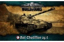 Баннер, плакат, постер «World of Tanks», Bat Chatillon 25 t
