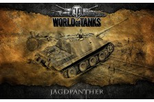 Баннер, плакат, постер «World of Tanks», JAGDPANTHER