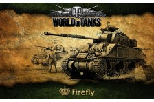 Баннер, плакат, постер «World of Tanks», Firefly