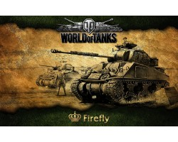 Баннер, плакат, постер «World of Tanks», Firefly