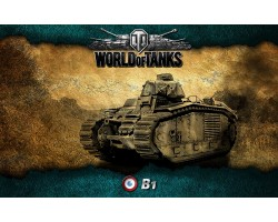 Баннер, плакат, постер «World of Tanks», B1