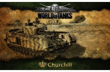 Баннер, плакат, постер «World of Tanks», Churchill