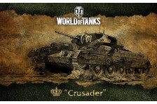 Баннер, плакат, постер «World of Tanks», Crusader