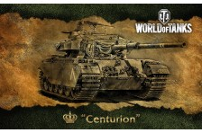 Баннер, плакат, постер «World of Tanks», Centurion