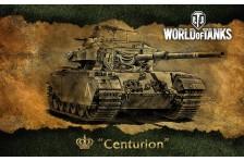 Баннер, плакат, постер «World of Tanks», Centurion