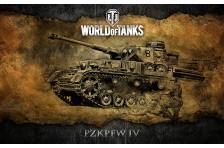 Баннер, плакат, постер «World of Tanks», PzkPfw IV