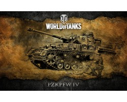 Баннер, плакат, постер «World of Tanks», PzkPfw IV