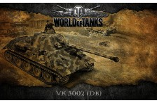 Баннер, плакат, постер «World of Tanks», VK 3002 (DB)