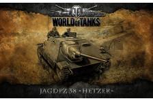 Баннер, плакат, постер «World of Tanks», JAGDPZ 38 (HETZER)