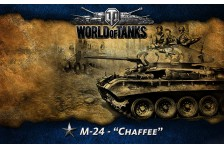 Баннер, плакат, постер «World of Tanks», M-24 Chaffee
