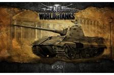 Баннер, плакат, постер «World of Tanks», E-50