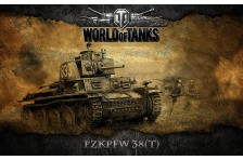 Баннер, плакат, постер «World of Tanks», PzkPfw 38(T)