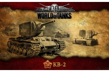 Баннер, плакат, постер «World of Tanks», KB-2