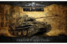 Баннер, плакат, постер «World of Tanks», PzkPfw V Panther