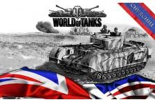 Баннер, плакат, постер «World of Tanks», Churchill