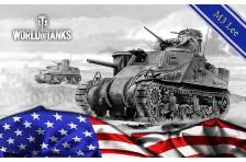 Баннер, плакат, постер «World of Tanks», M3 Lee