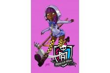 Баннер, плакат, постер «Monster High» (рус. Школа Монстер Хай). Вариант-01