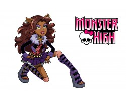 Баннер, плакат, постер «Monster High» (рус. Школа Монстер Хай). Вариант-03
