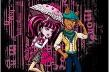 Баннер, плакат, постер «Monster High» (рус. Школа Монстер Хай). Вариант-10