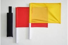 Флажки сигнальные в чехле (Красный-Желтый)