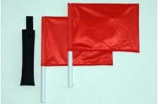 Флажки сигнальные в чехле (Красный-Красный)