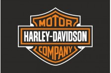 Флаг любителей Harley-Davidson Motor Company (рус. Харли-Дэвидсон)
