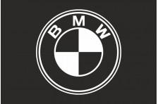 Флаг любителей BMW (рус. БМВ). Вариант-2