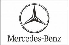 Флаг любителей Mercedes-Benz (рус. Мерседес-Бенц)