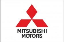 Флаг любителей Mitsubishi Motors (рус. Мицубиси Моторс)