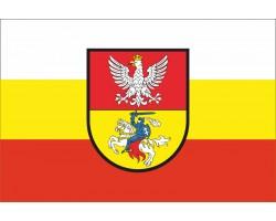 Флаг города Белосток, Польша.