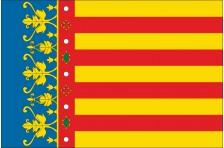 Флаг города Валенсия, Испания
