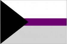 Флаг Demisexual Pride Flag