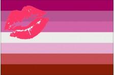 Флаг Lesbian Pride Flag. Вариант-02