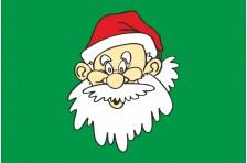 Флаг «Дед Мороз». Вариант-02