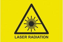 Флаг Лазерная радиация (Laser radiation)
