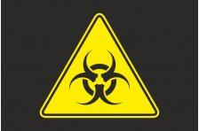 Флаг Биологическая опасность. Вариант-02.