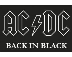 Флаг рок-группы AC/DC, Back in Black