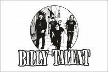 Флаг рок-группы Billy Talent