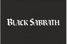 Флаг рок-группы Black Sabbath