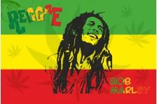 Флаг «Боб Марли». Вариант-2
