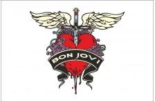 Флаг рок-группы Bon Jovi
