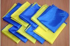 Флаг Украины сшитый 1400х900мм, комплект 10 шт.