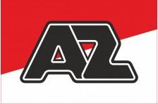 Флаг футбольного клуба «Алкмар Занстрек». Вариант-1