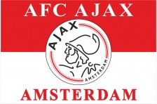 Флаг футбольного клуба «Аякс» Амстердам