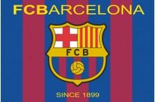 Флаг футбольного клуба «Барселона». Вариант-1