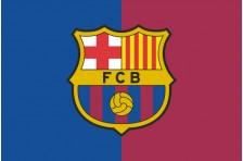 Флаг футбольного клуба «Барселона». Вариант-2