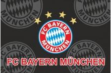Флаг футбольного клуба «Бавария» Мюнхен. Вариант-2