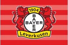 Флаг футбольного клуба «Байер 04». Вариант-2